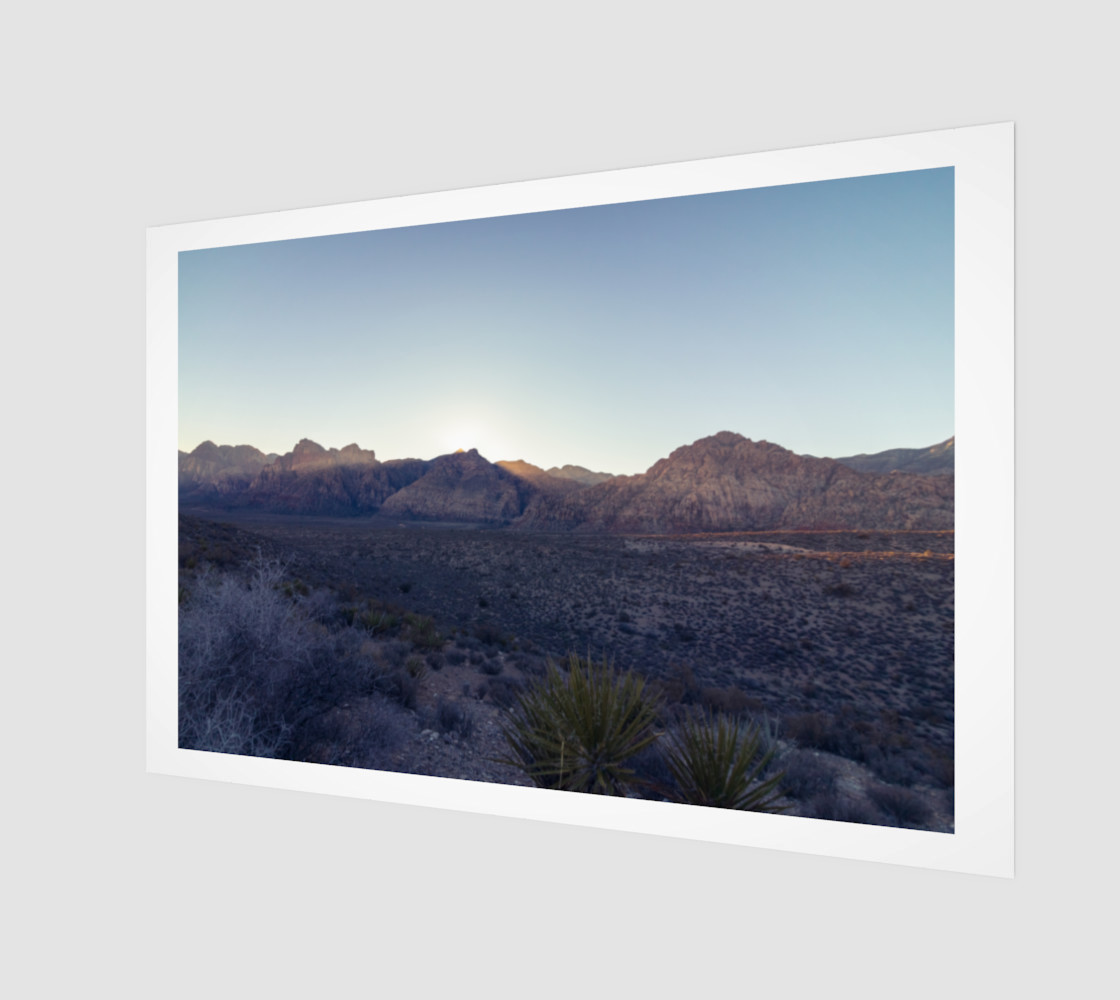 Desert Sunset preview #1
