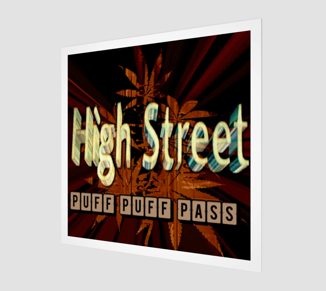 High St. Puff Puff Pass 3D preview