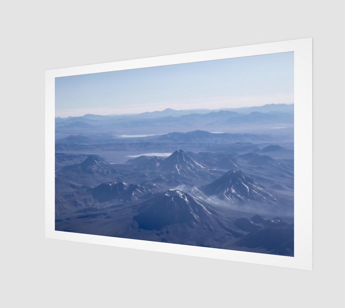 Aperçu de Window Plane View of Andes Mountains #1