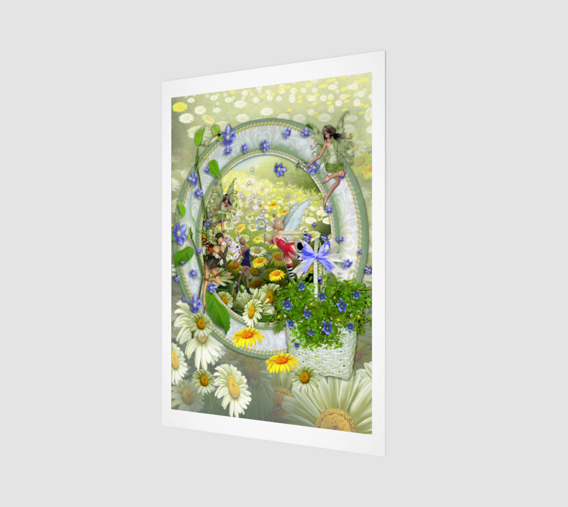 Spring fairies preview #1