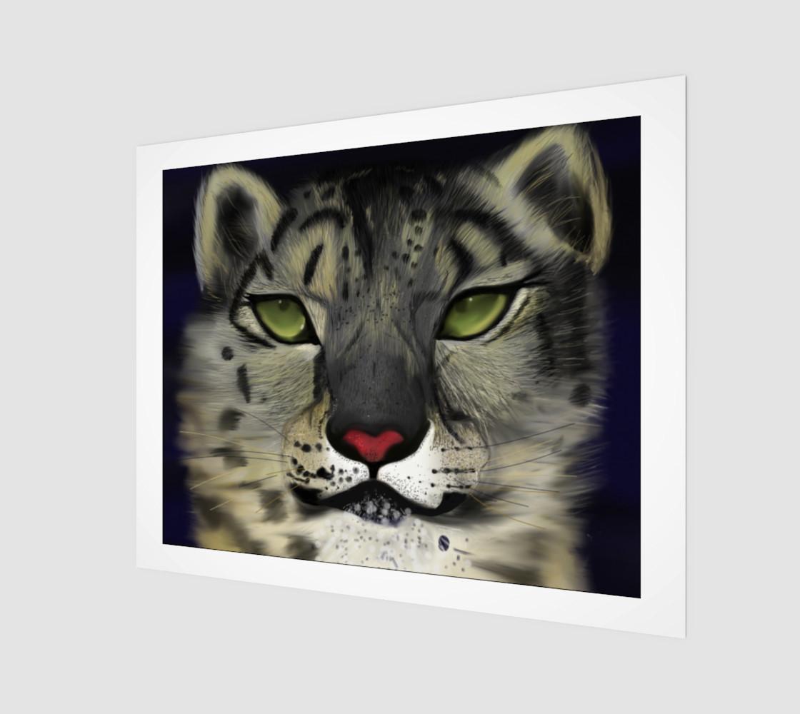 "Aperçu de Snow Leopard Wall Art 20"" x 16"" #1"
