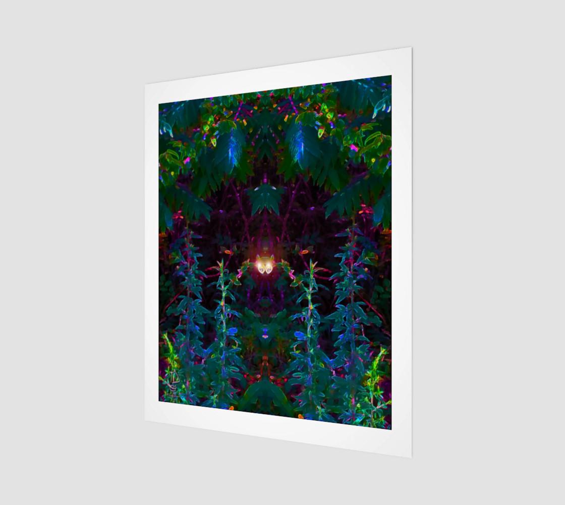 It's Watching You modern art print by Tabz Jones preview #1