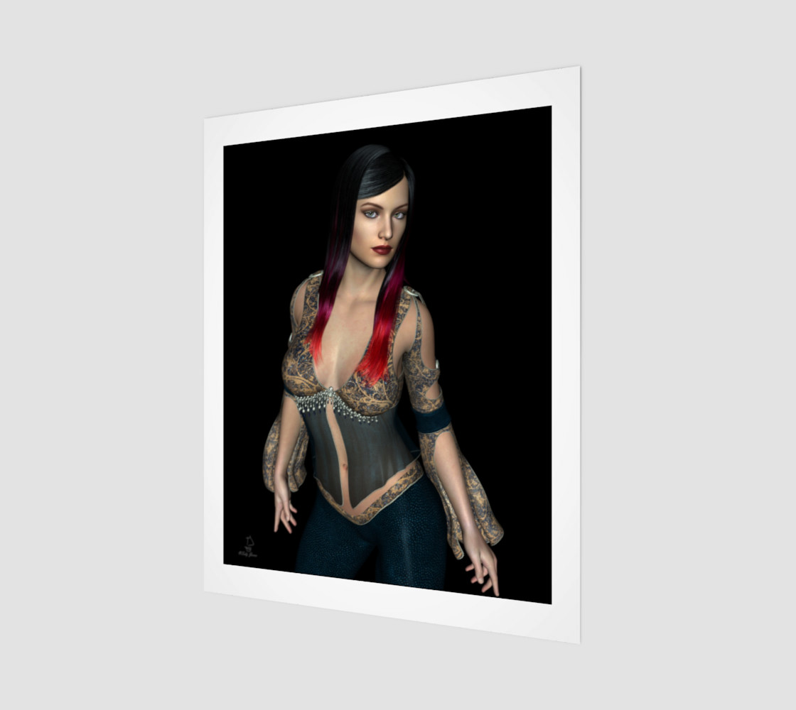 Firefly Fantasy Pinup by Tabz Jones preview #1