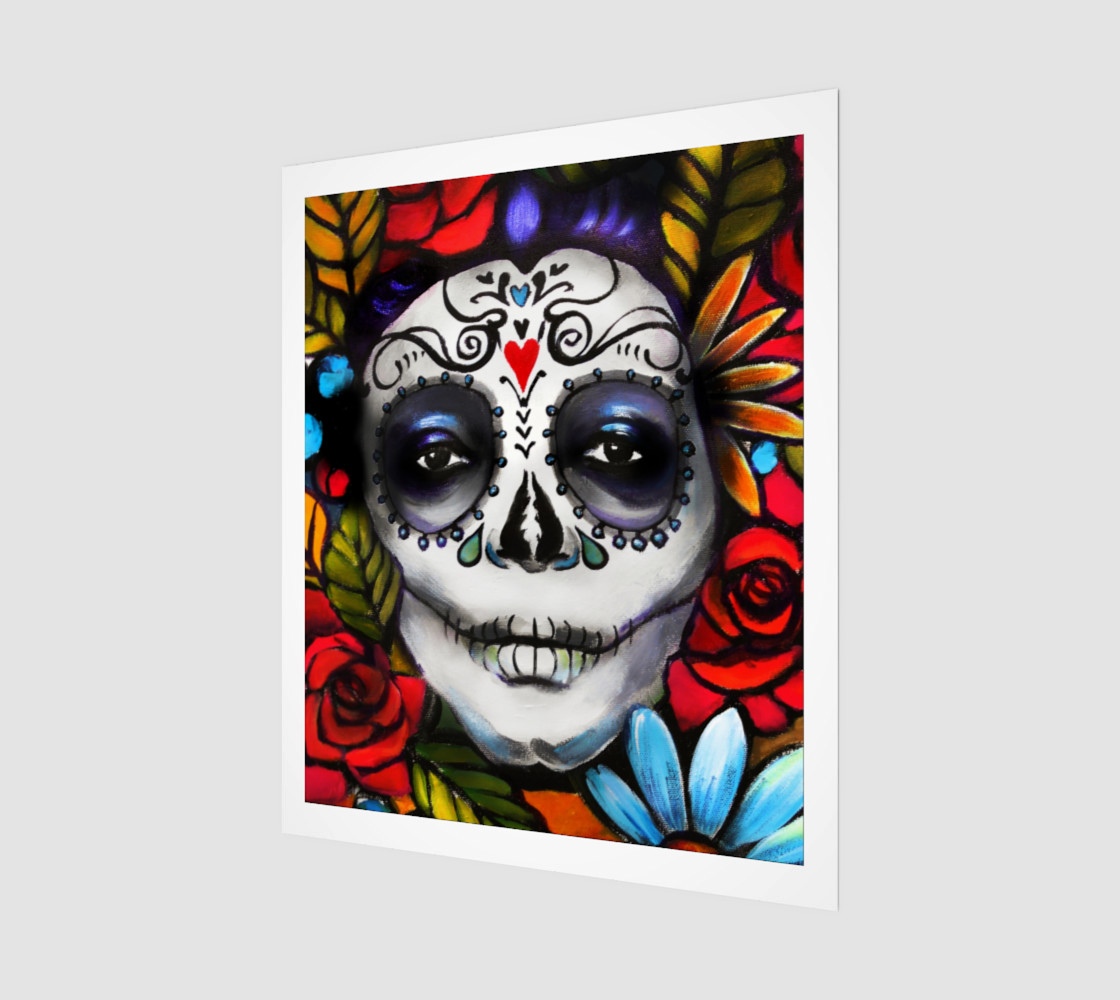 "Day of the Dead 20"" x 24"" preview #1"