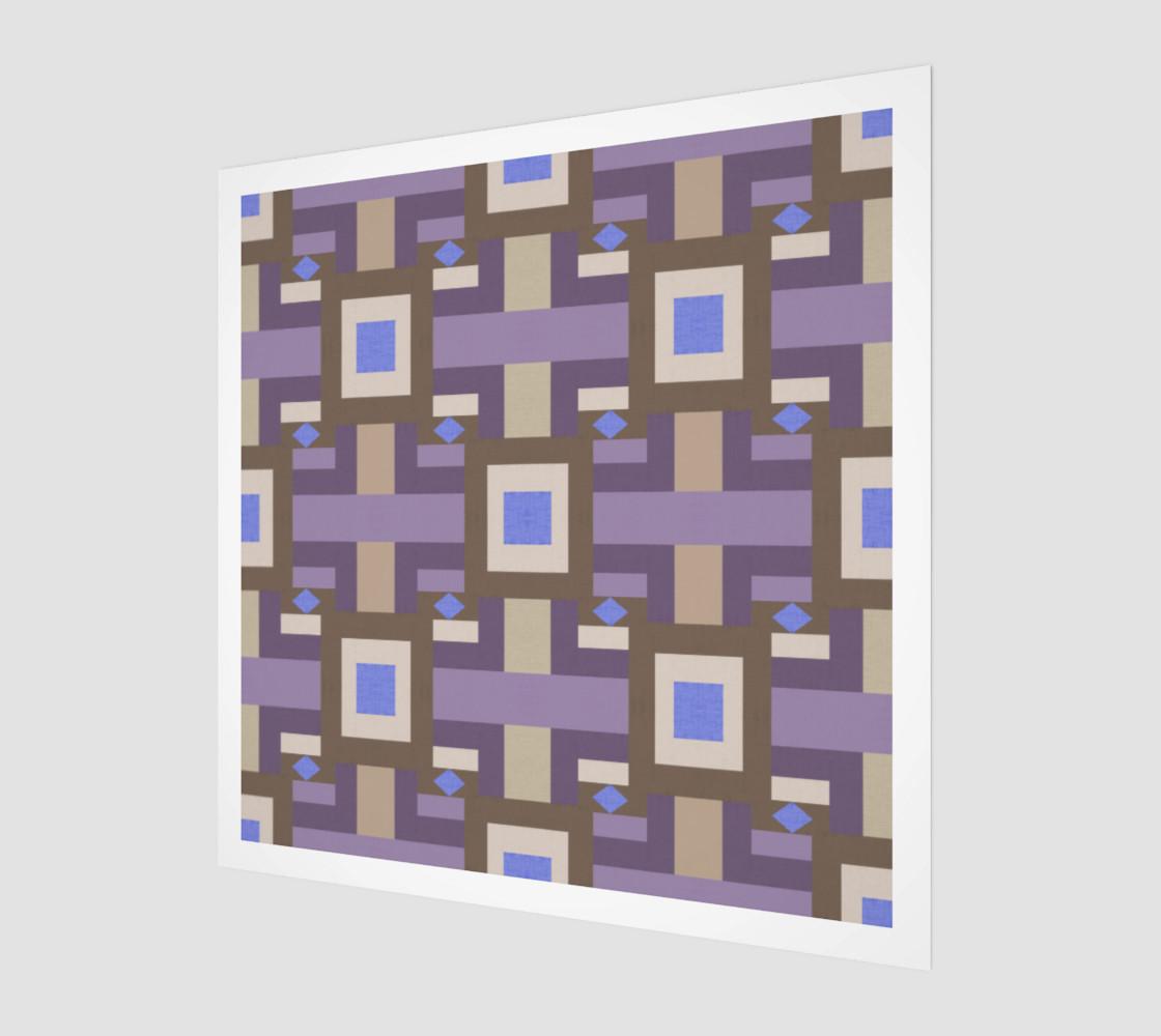 Winter geometry pattern preview #1