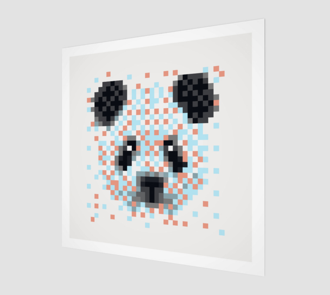 Pixel Panda preview #1