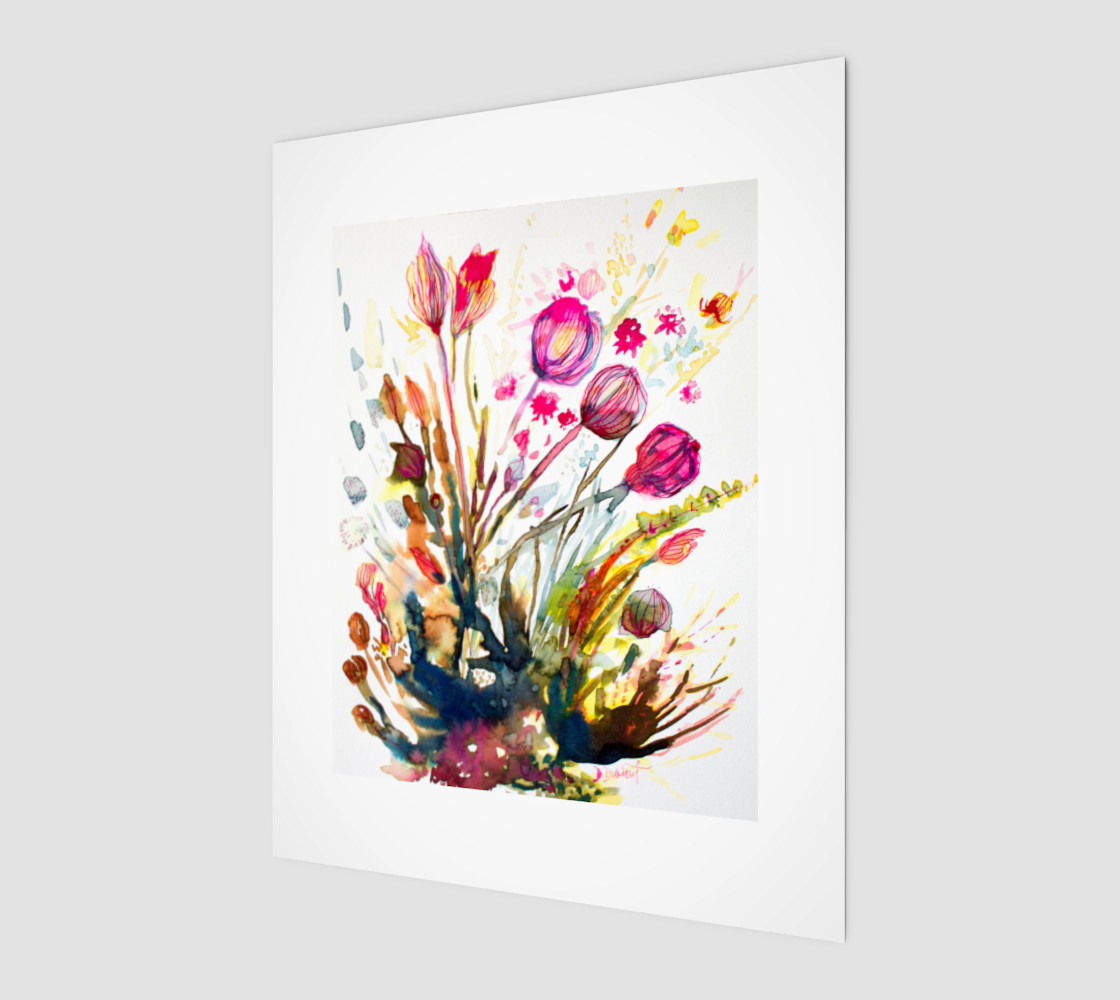 wall-art_Sea Flowers preview #1