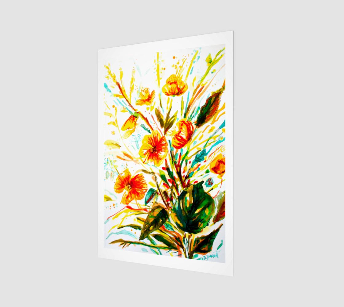 Aperçu de wall_art-Mustard Flowers #1