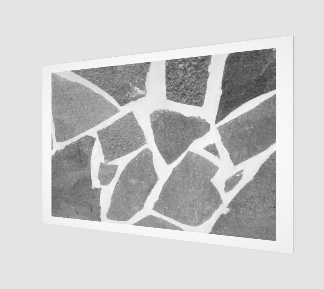 Aperçu de Gray White Stone Mosaic Pattern #1