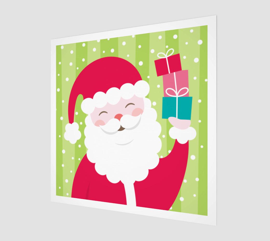 Cheerful Santa preview #1