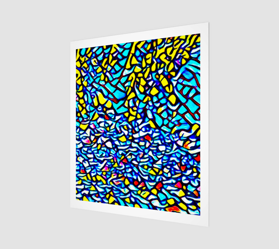 Stained Glass Abstract preview #1
