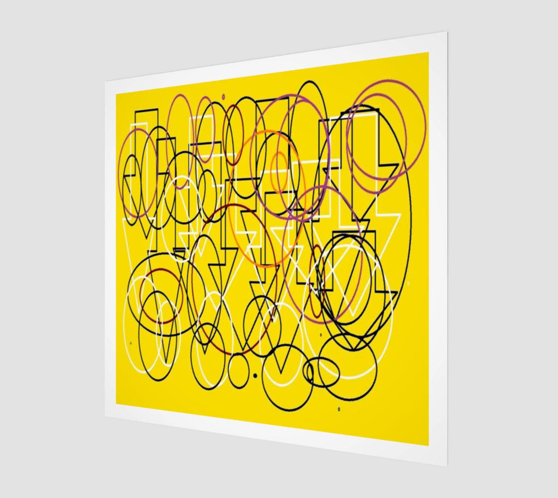 Geometric yellow preview #1