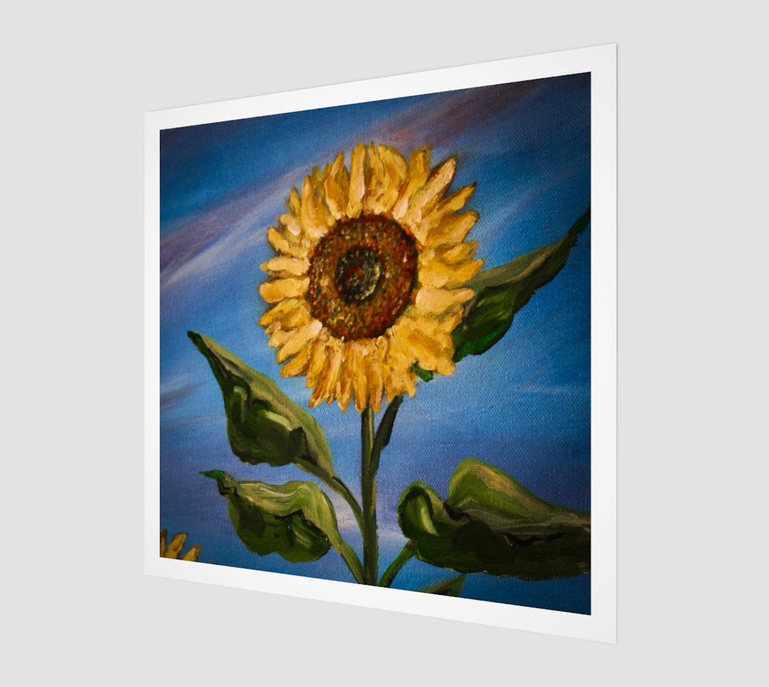 Aperçu de Sunflower Sky Wall #1