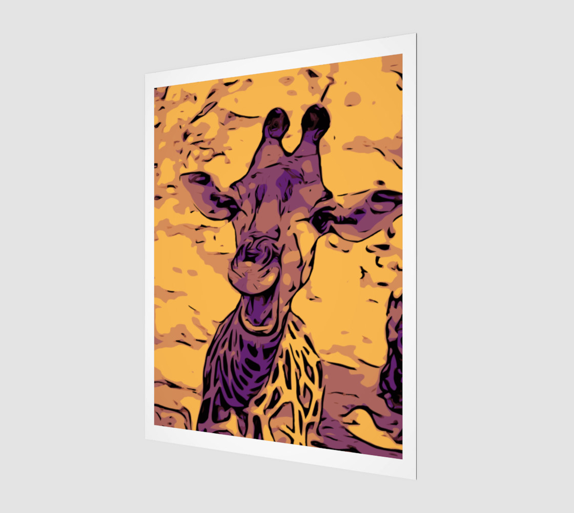 Yellow giraffe preview #1