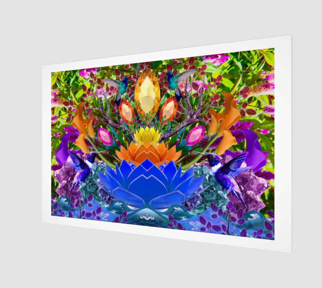 Peaceful Lotus Garden preview #1