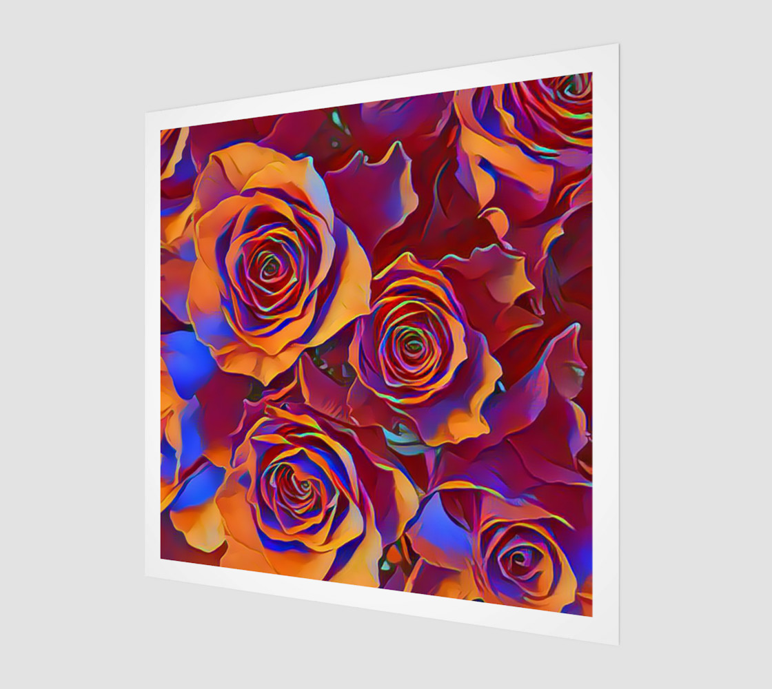 Aperçu de Why Not Roses Print #1