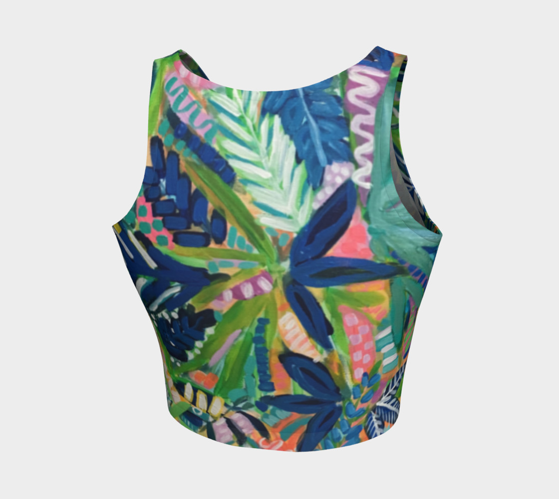 Jungle Jive- Athletic Crop Top 1 preview #2