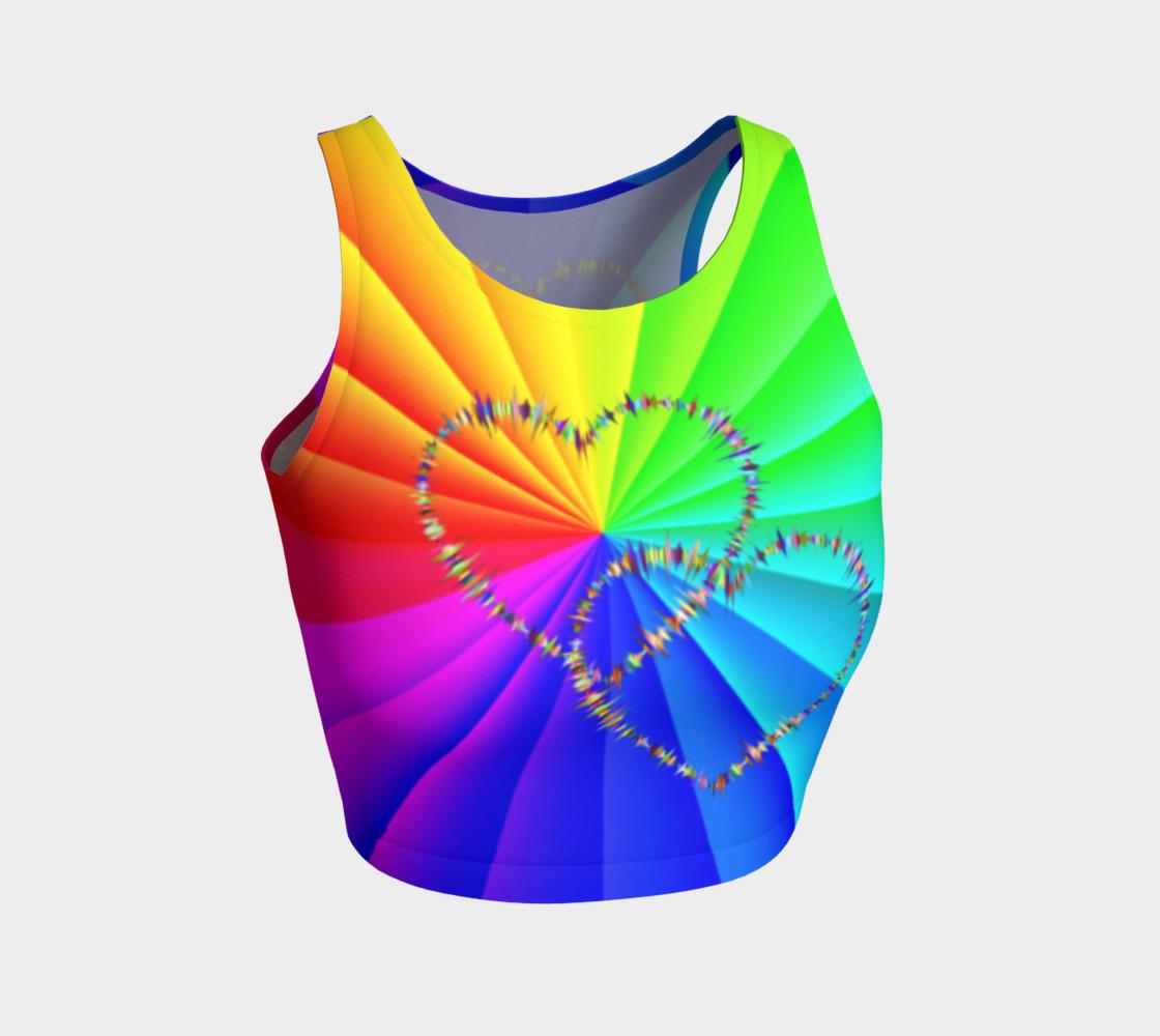 Aperçu de rainbow heart3 #1