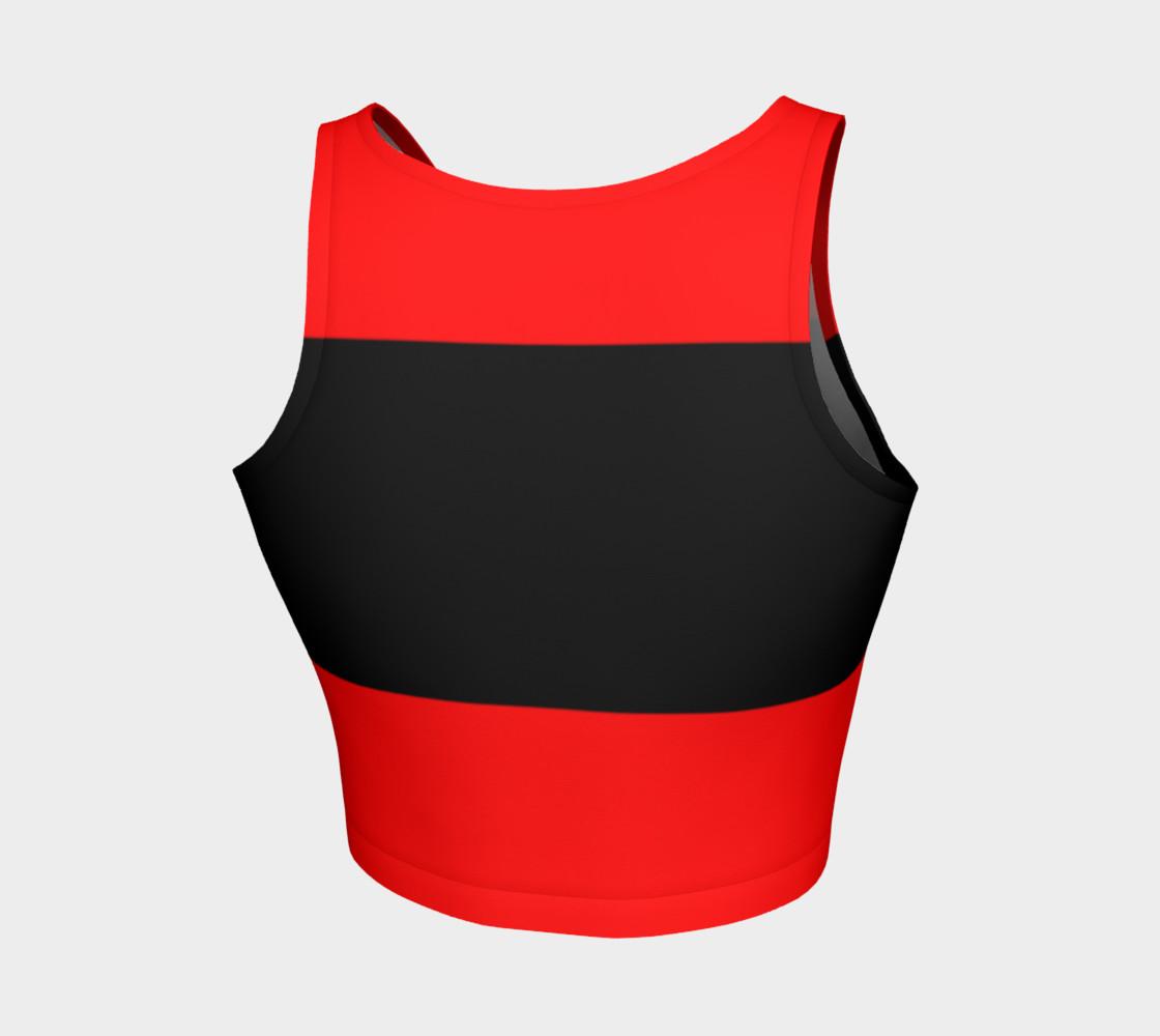 Aperçu de Fitness Fashion Red Blk Wht #2