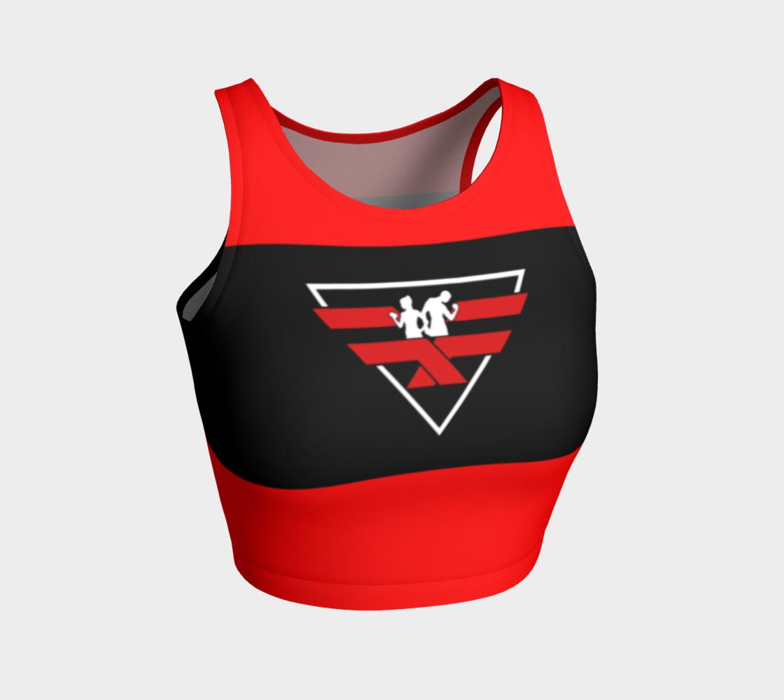Aperçu de Fitness Fashion Red Blk Wht #1