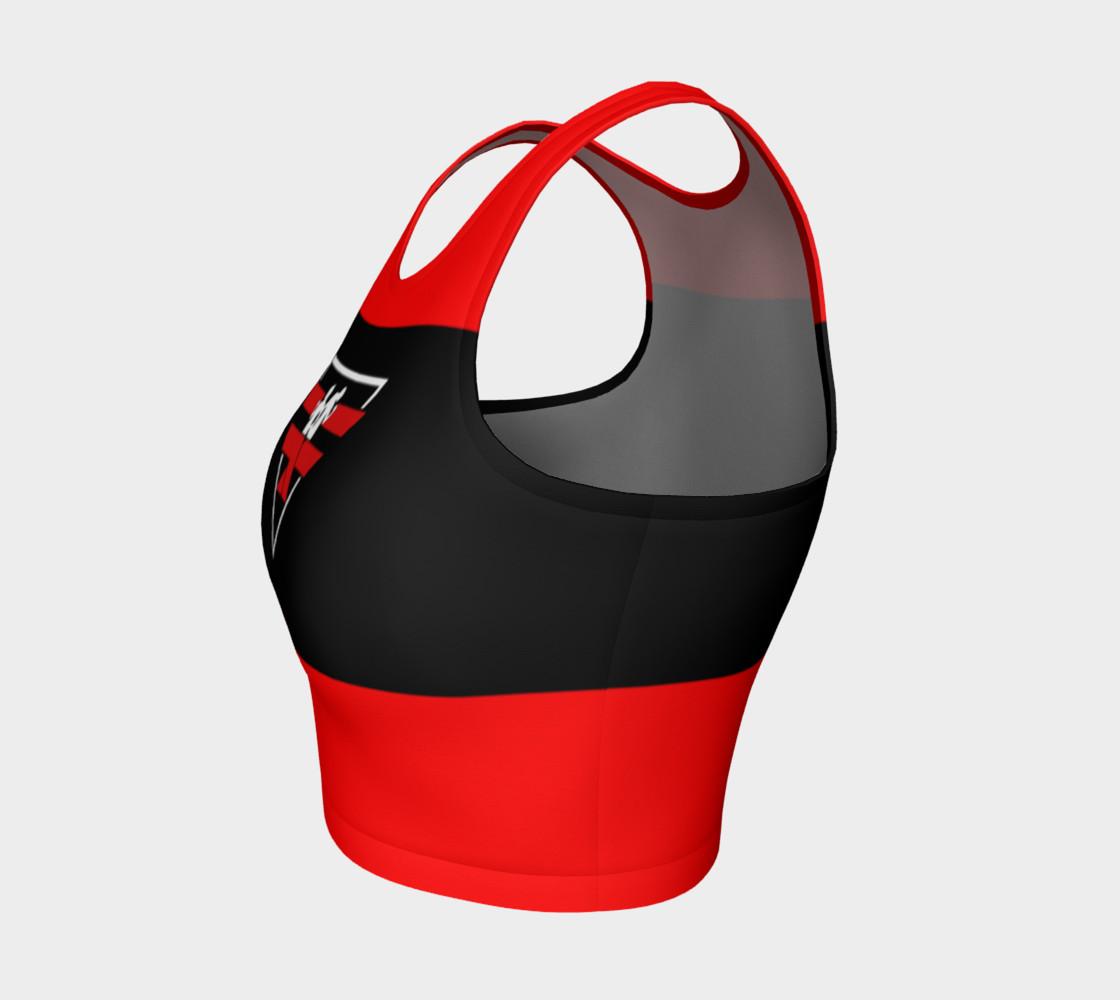 Aperçu de Fitness Fashion Red Blk Wht #3