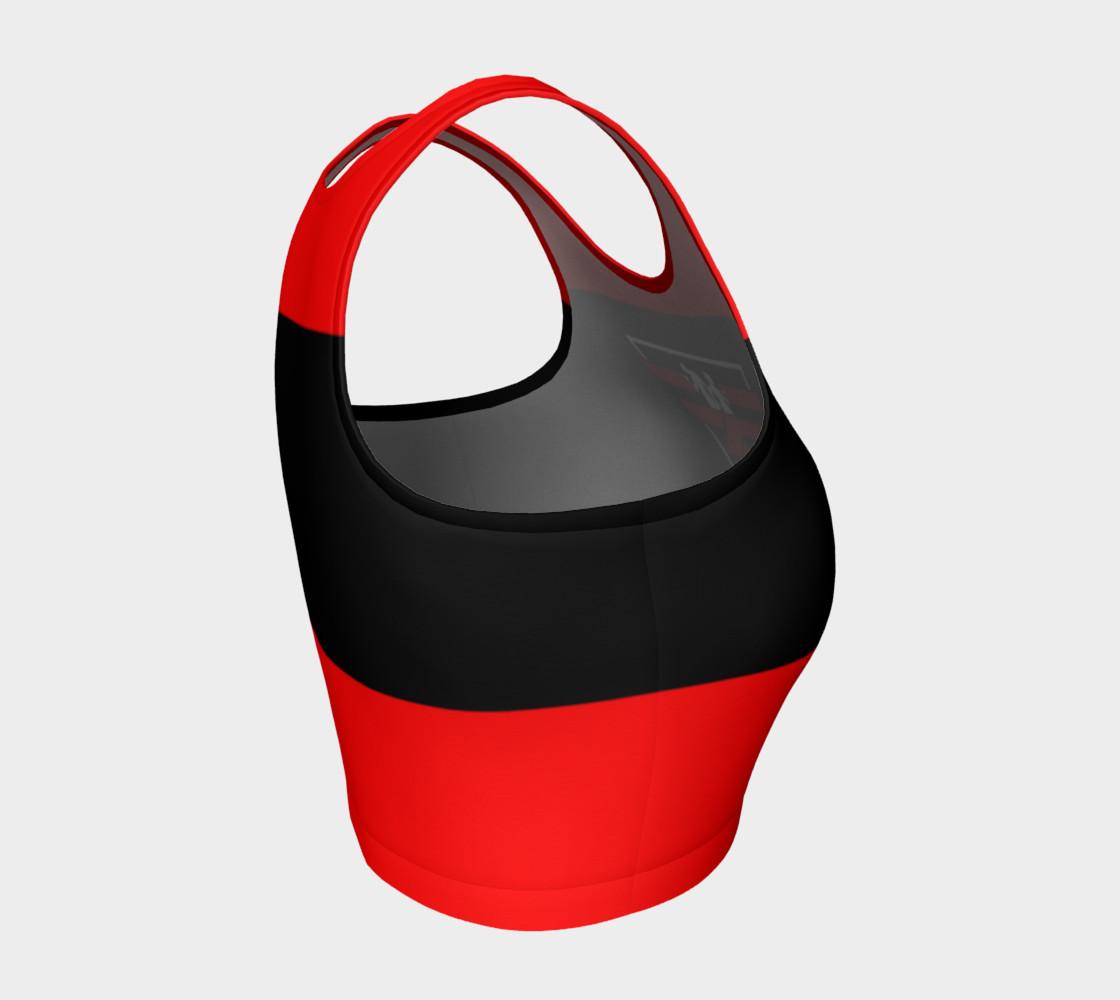 Aperçu de Fitness Fashion Red Blk Wht #4