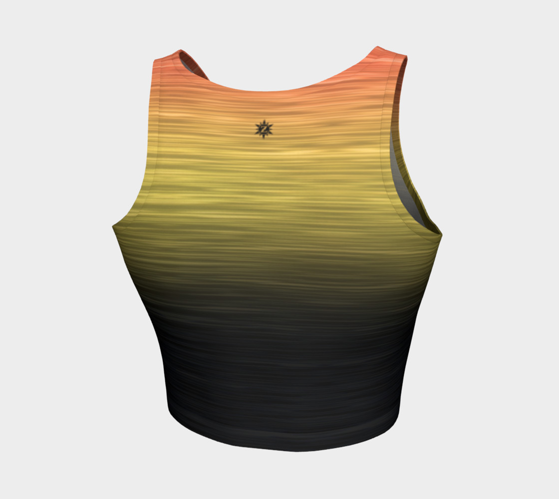 Rainbow Ombre Black Yellow Peach preview #2