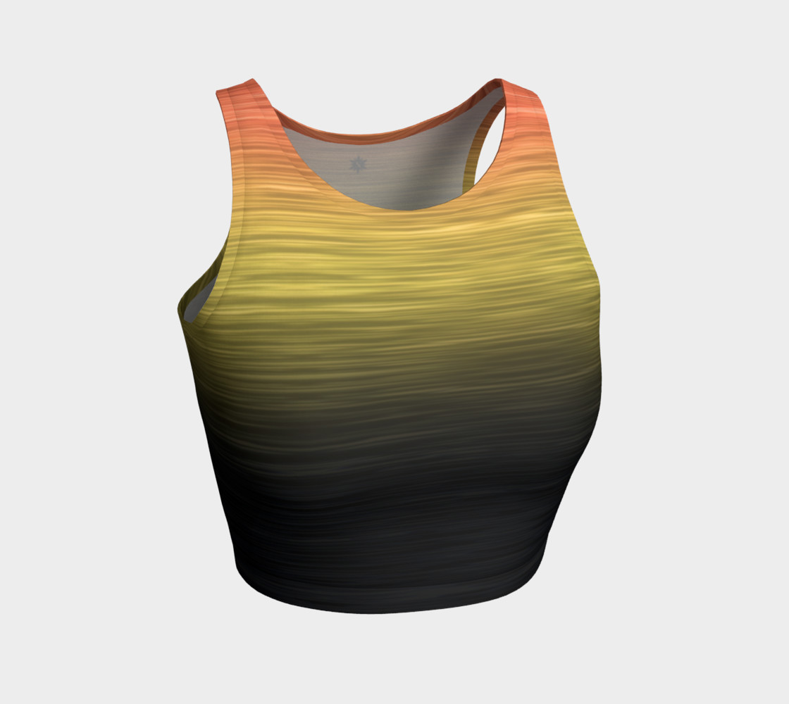 Rainbow Ombre Black Yellow Peach preview #1