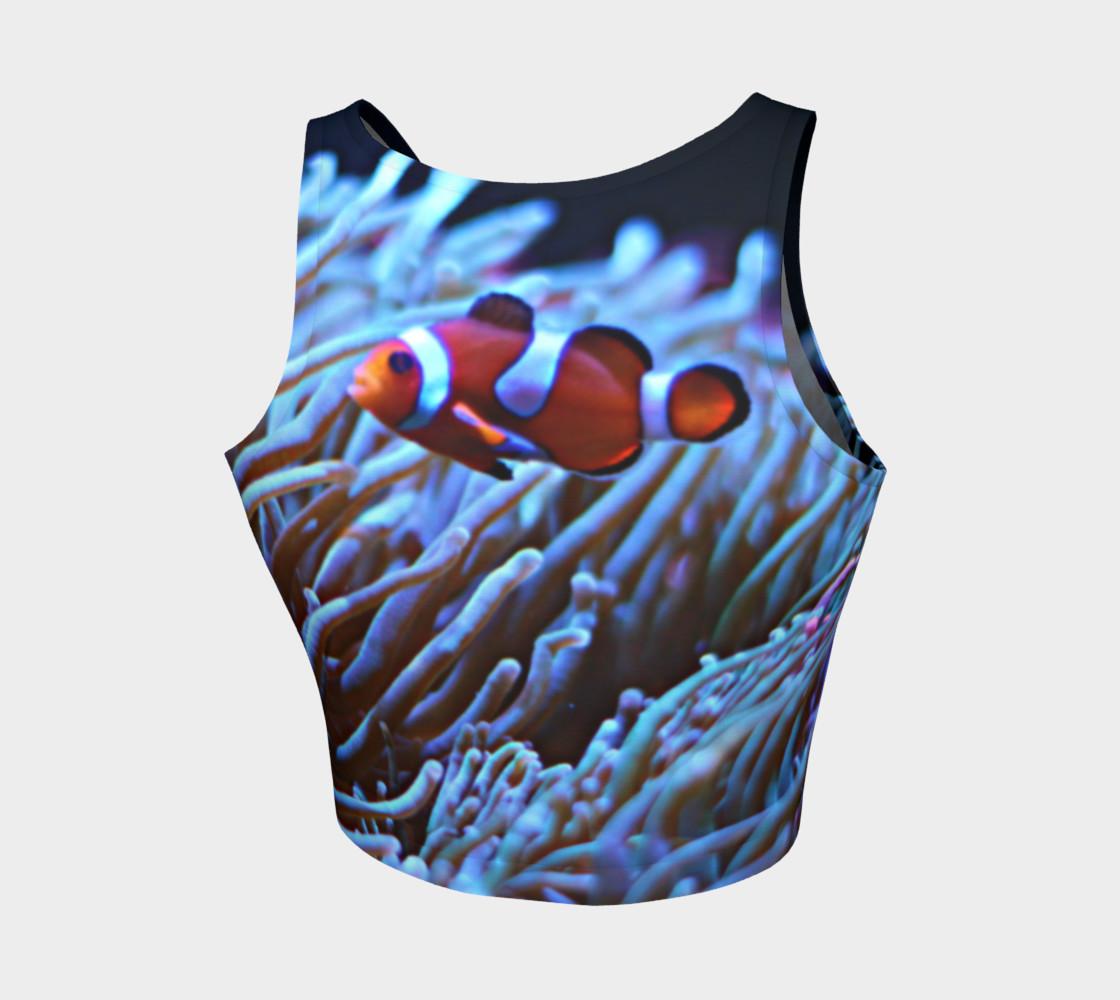 Black Light Reactive Clownfish Crop preview #2