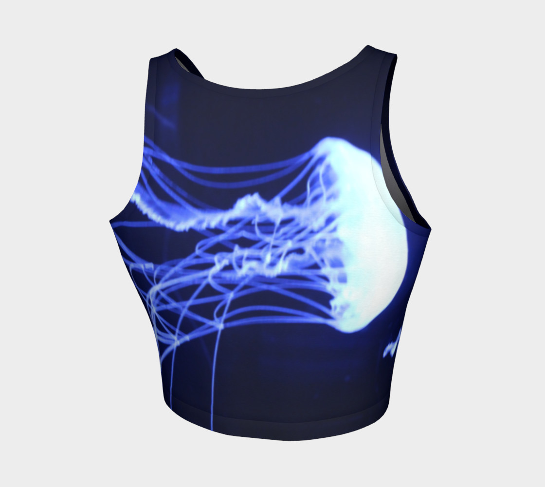 Black light Reactive Jelly Accent Crop preview #2