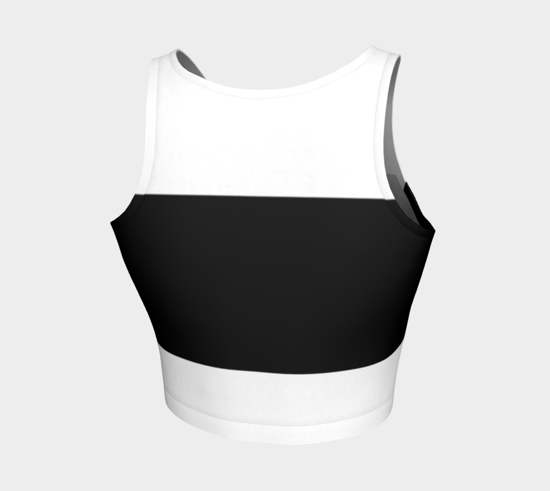 Fitness Fashion Blk Wht Pattern preview #2