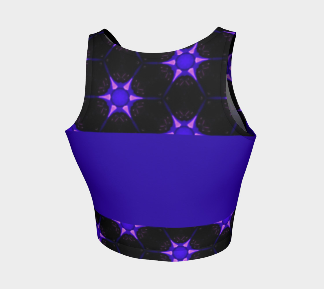 Fitness Fashion Electric Purple Star Miniature #3