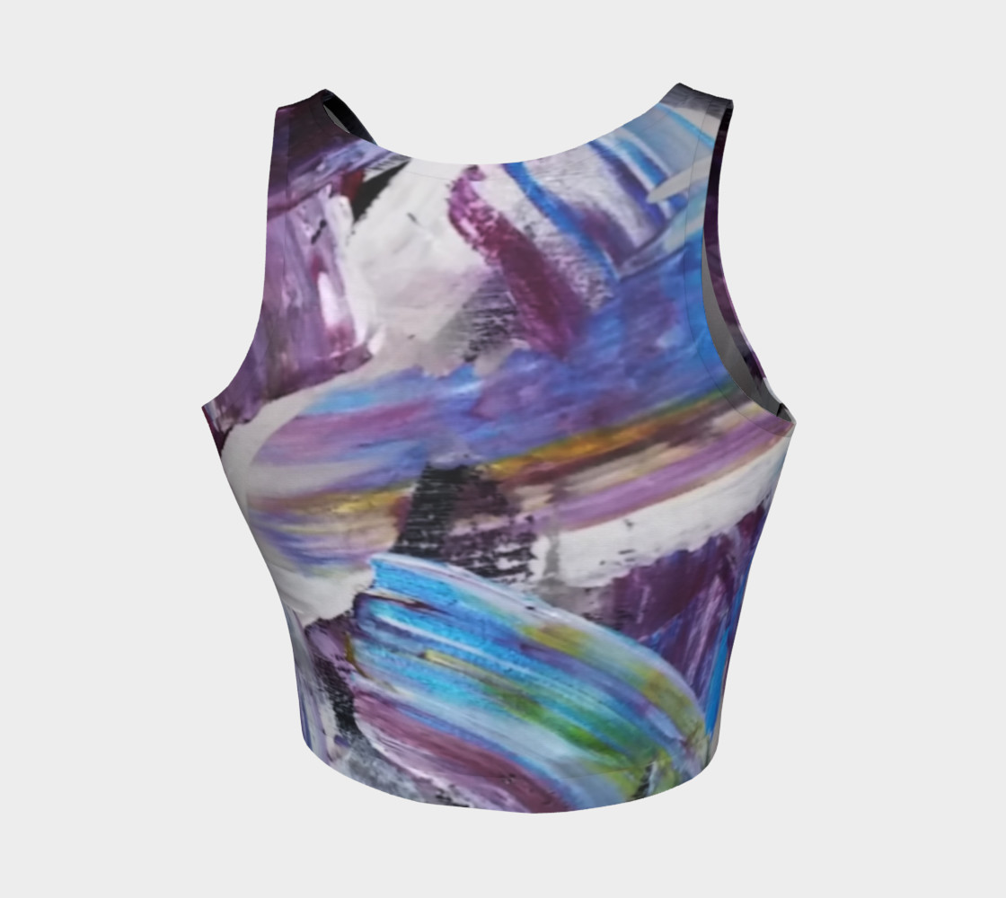 Energy Shift Crop Top by Janet Gervers preview #2