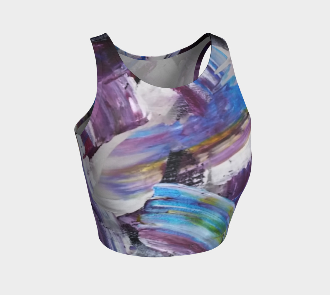 Energy Shift Crop Top by Janet Gervers preview #1
