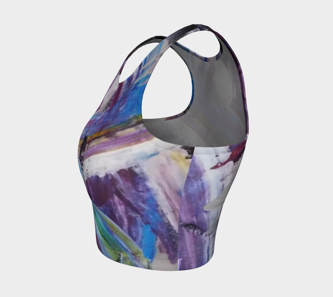 Energy Shift Crop Top by Janet Gervers preview #3