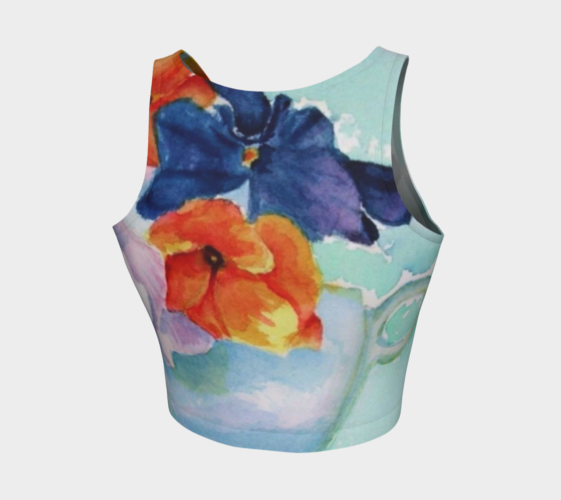 COLORFUL PANSIES in WATERCOLOR preview #2
