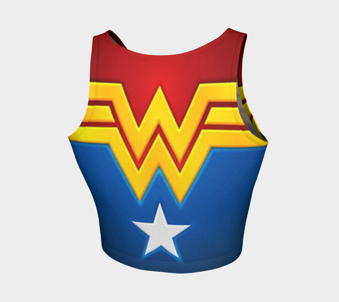 Aperçu de Wonder Woman crop top #2