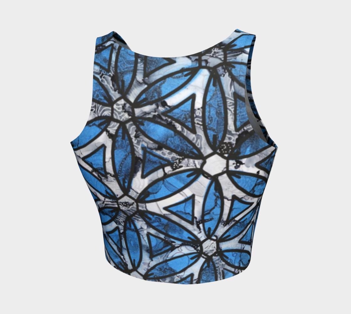 Aperçu de Flower of Life Blue #2