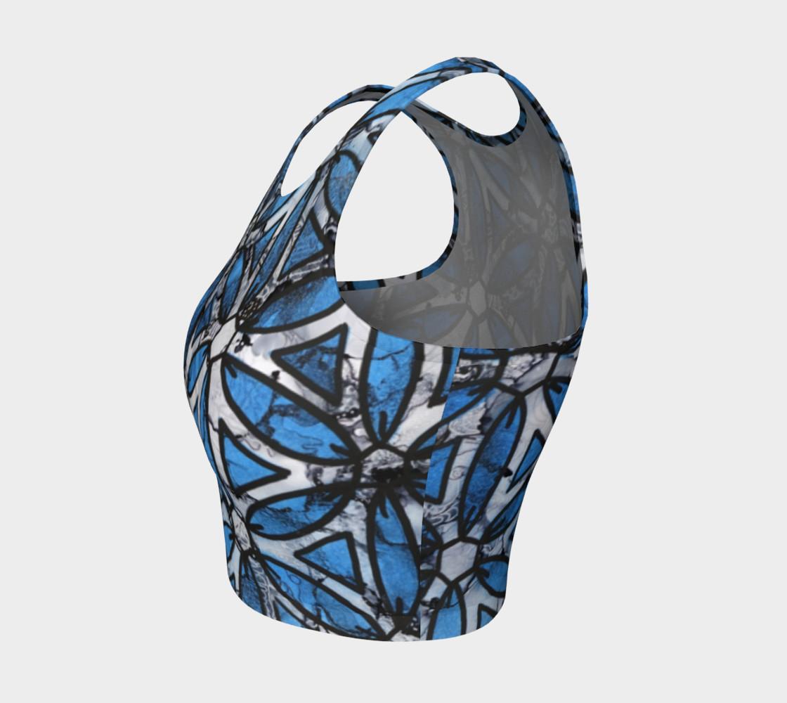 Aperçu de Flower of Life Blue #3