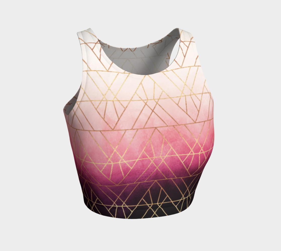 Pink Ombre Triangles preview #1