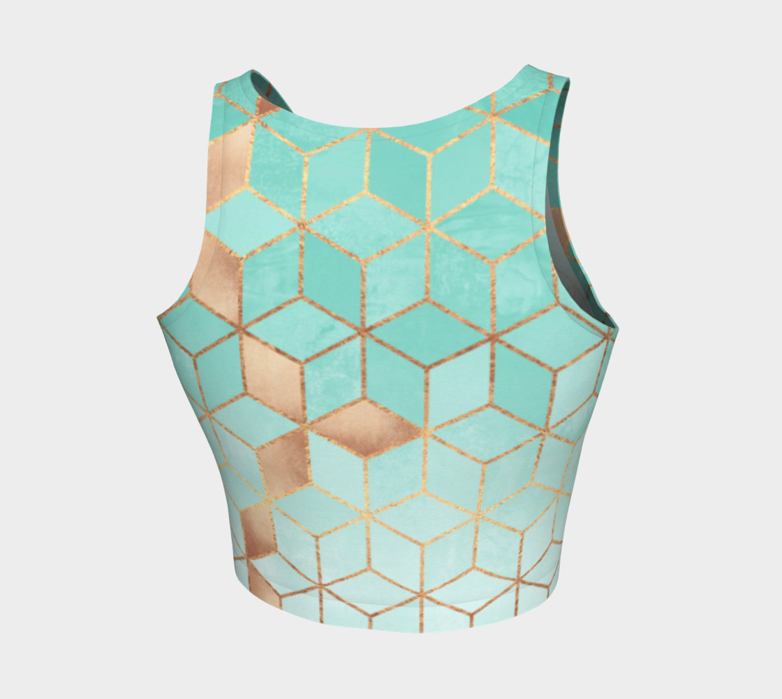 Soft Gradient Aquamarine preview #2
