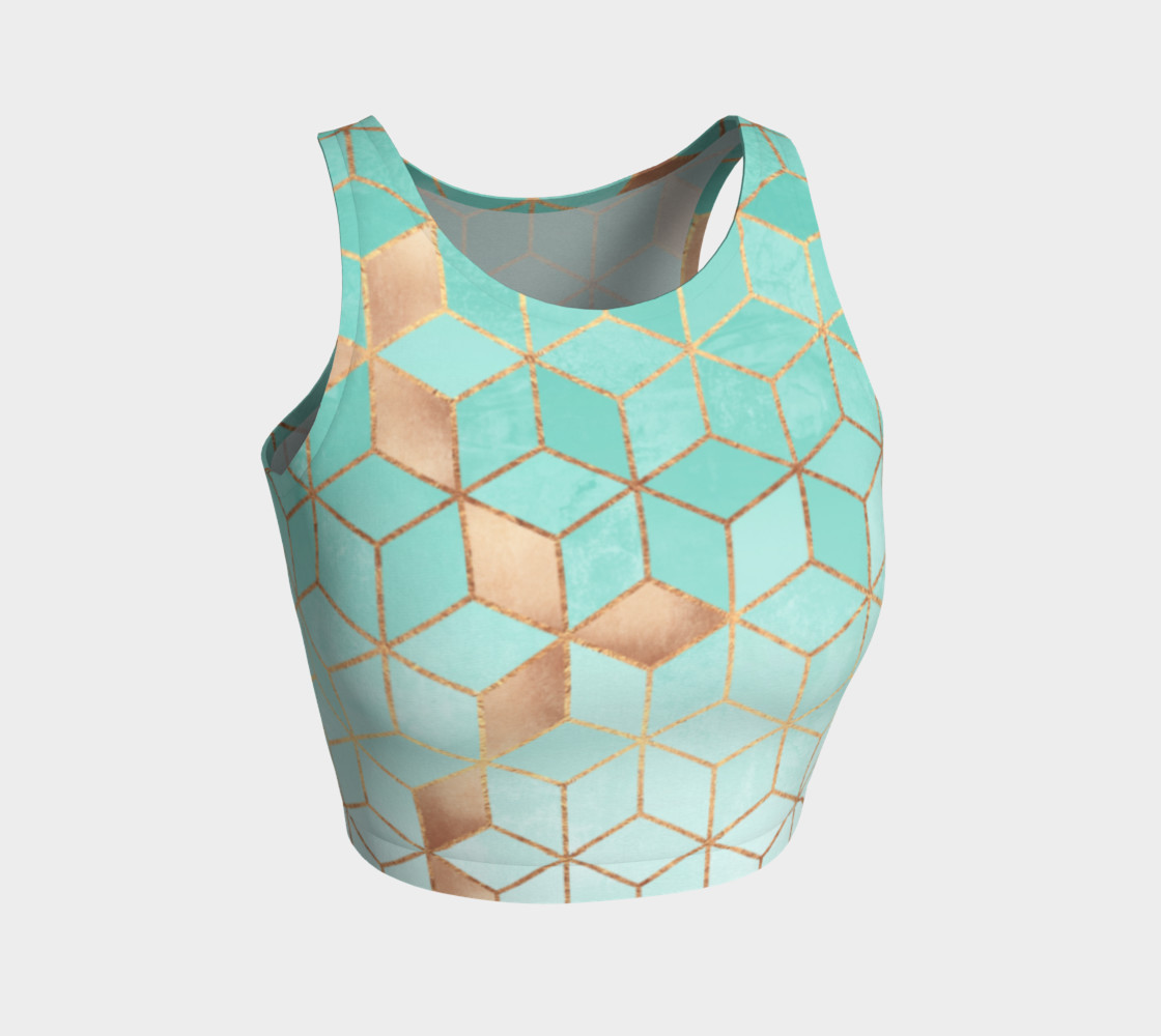 Soft Gradient Aquamarine preview #1