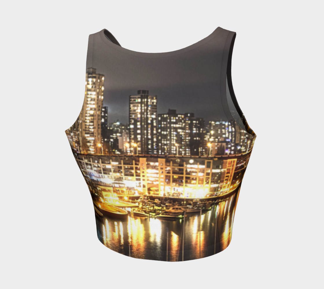 Aperçu de Golden City Crop Top #2