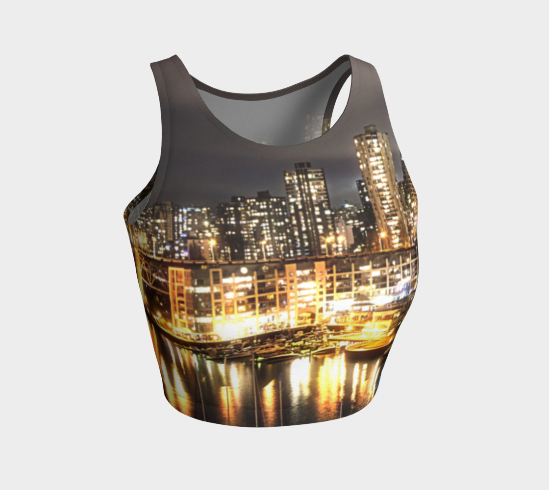 Aperçu de Golden City Crop Top #1