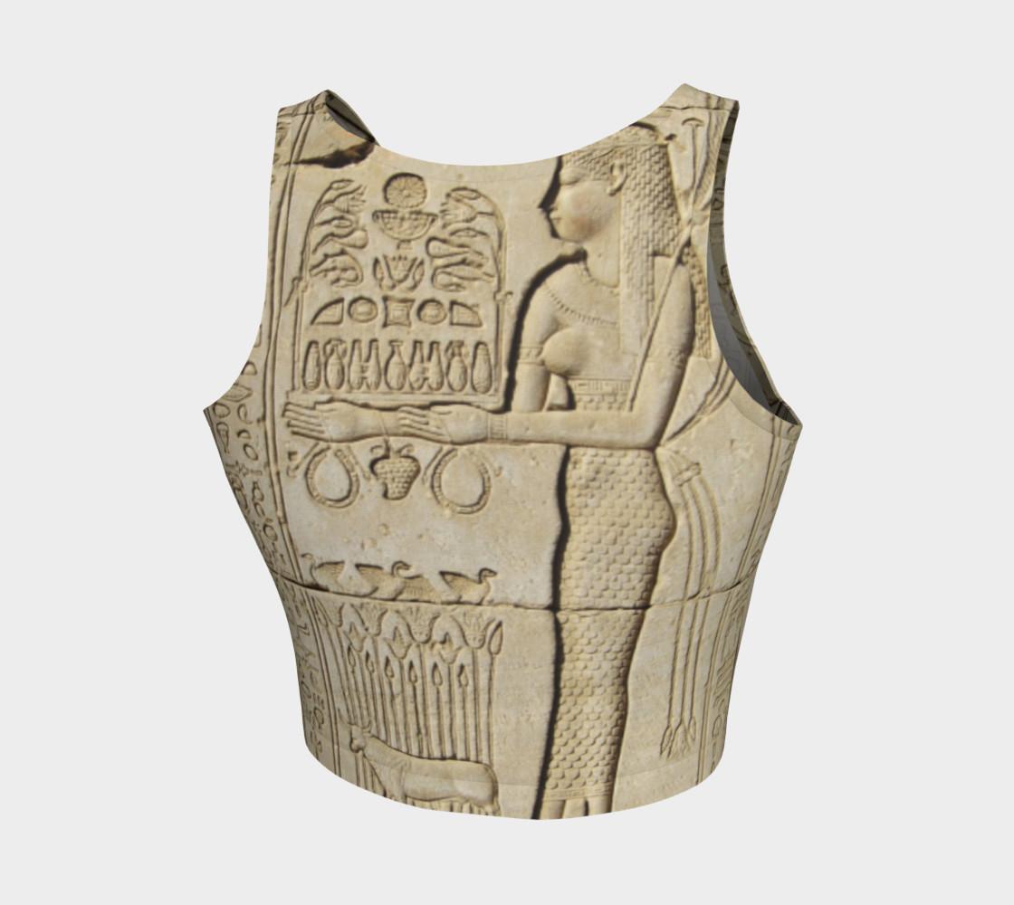 Sistas Stone tablet crop top preview #2