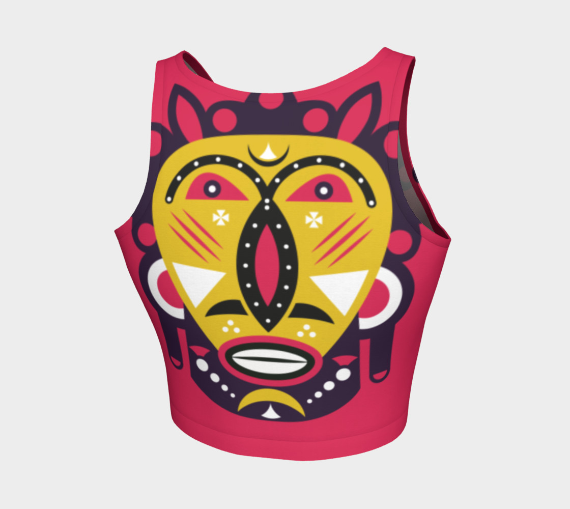 Kuba Face Mask Pink preview #2