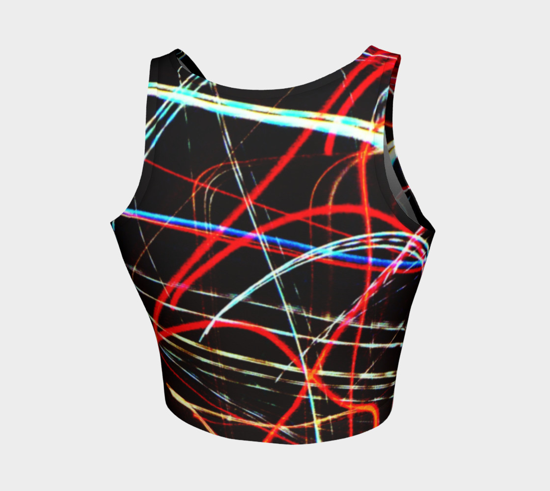 Lights Athletic Crop Top preview #2