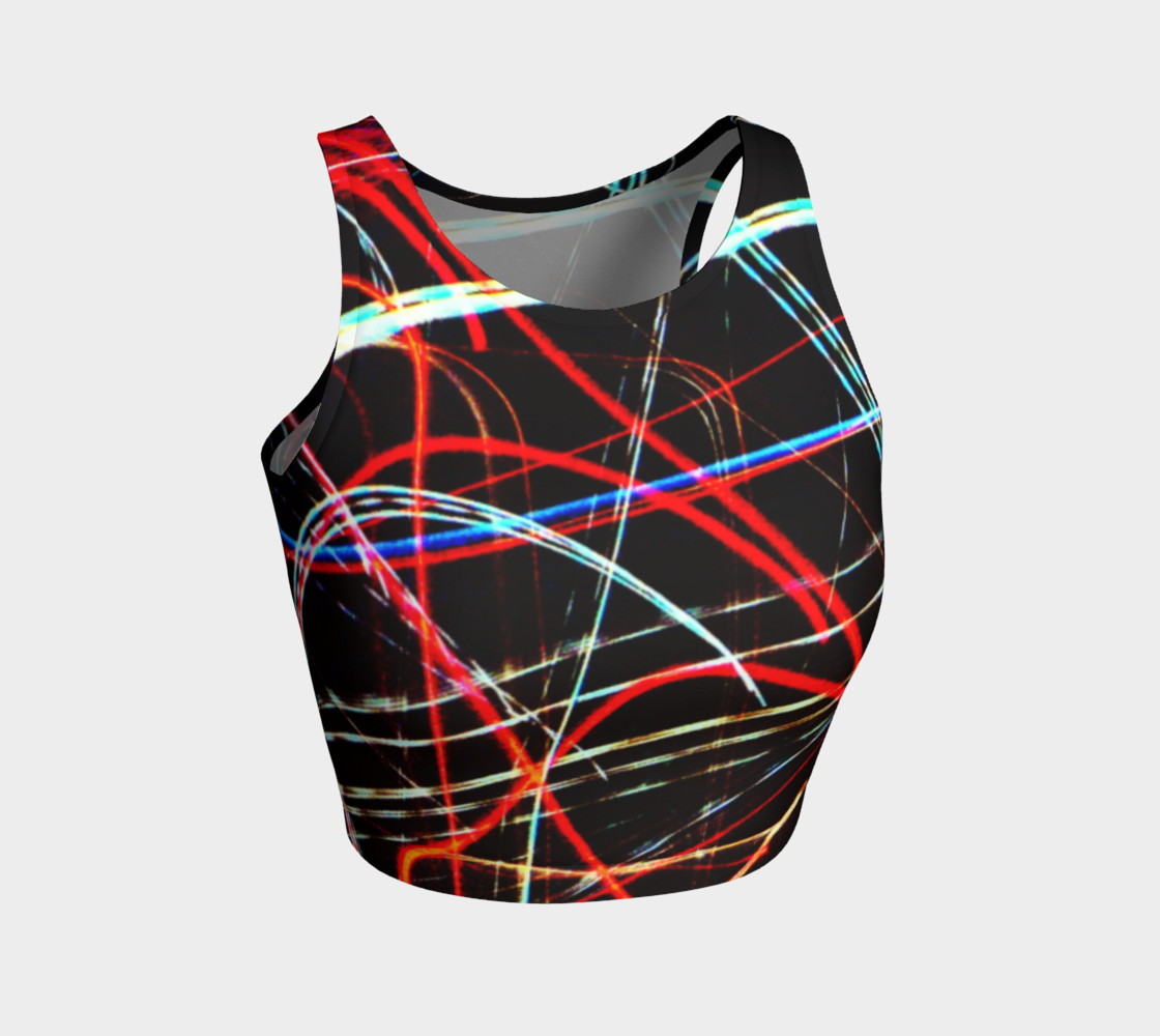 Lights Athletic Crop Top preview #1