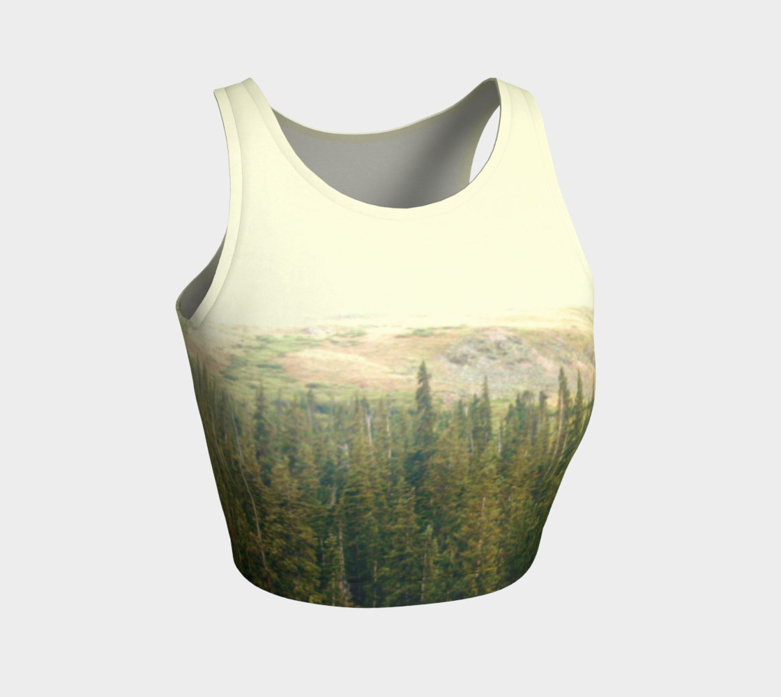 Solitude Athletic Crop Top thumbnail #2