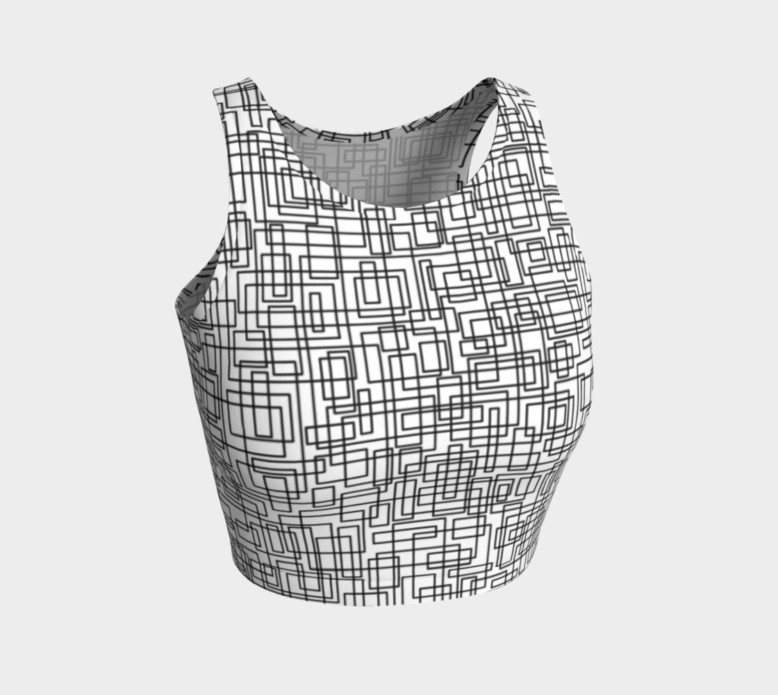 komada athletic crop top preview #1